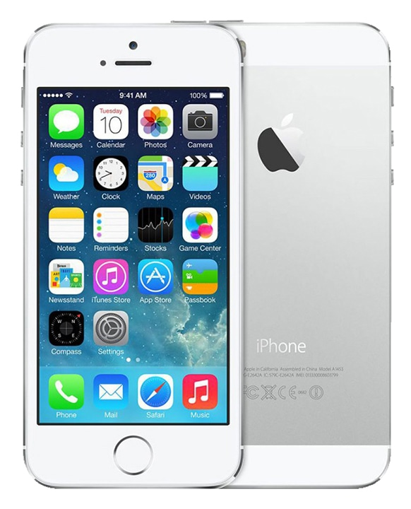 APPLE iPhone 5S 16 GO Silver reconditionne grade A+