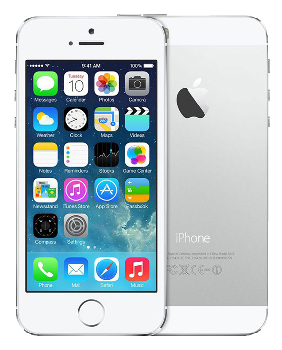 APPLE iPhone 5S 16 GO Argent reconditionne grade A+
