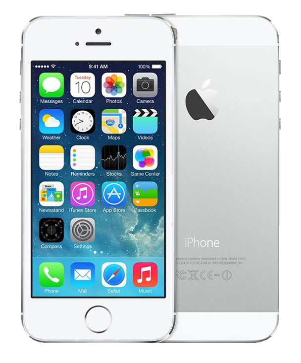 APPLE iPhone 5S 32 go silver reconditionne grade A+ (photo)