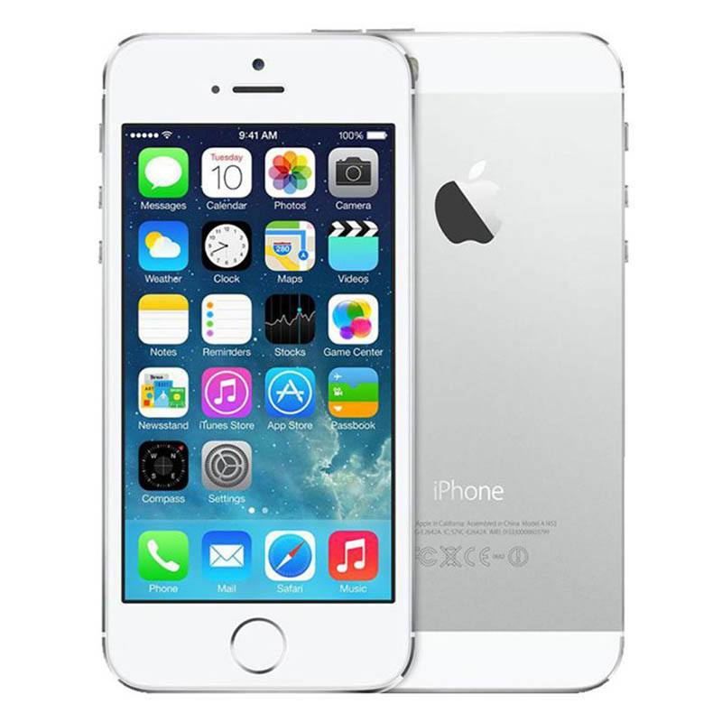 Apple Iphone 5 16 go silver reconditionne grade a+