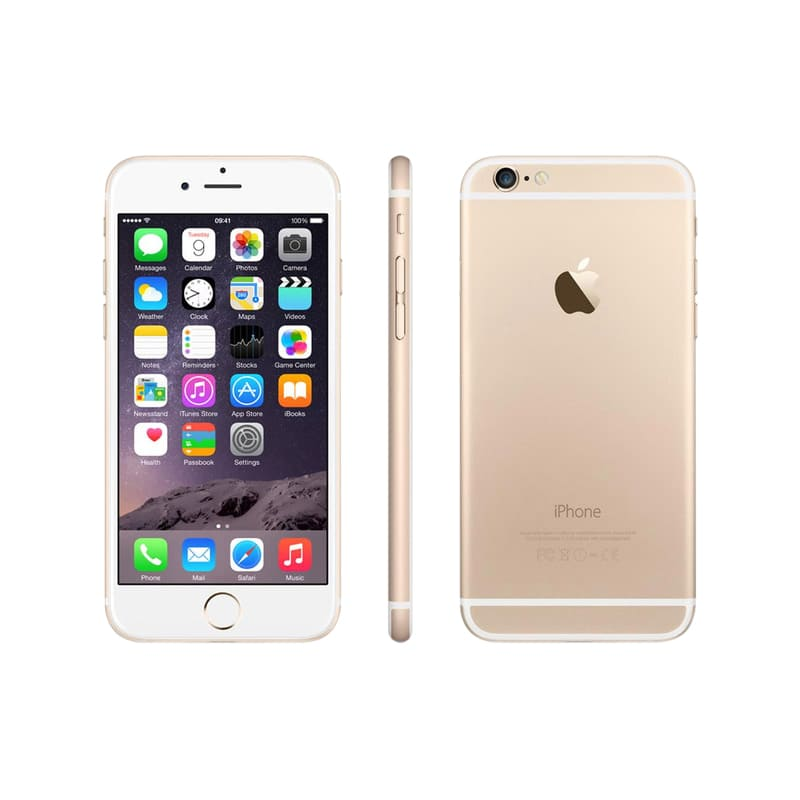 APPLE iPhone 6 16 Go gold reconditionne grade A+ (photo)