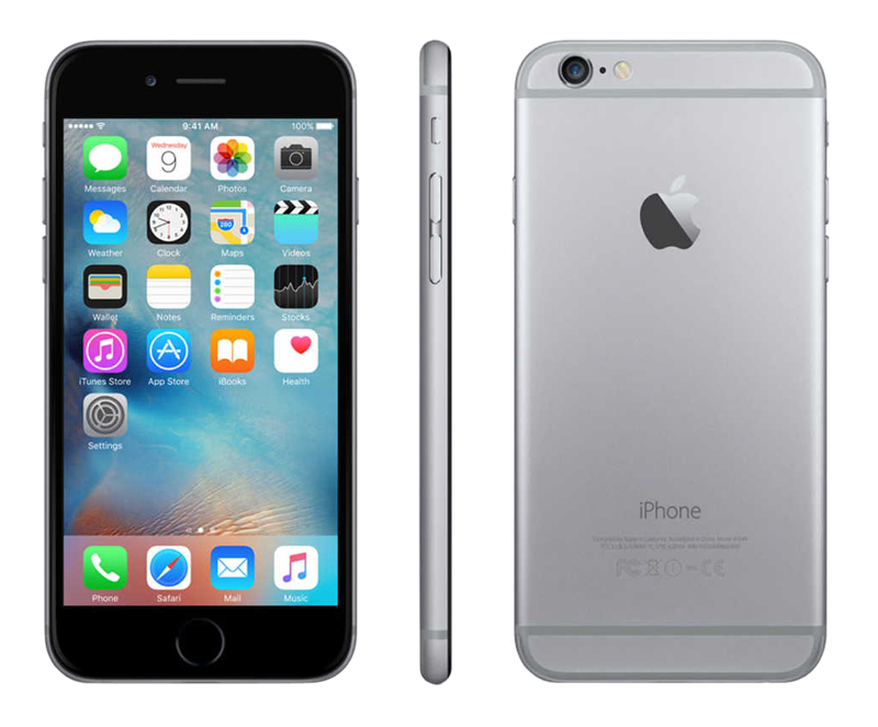 Apple Iphone 6 16 Go Sideral Grey Reconditionné Grade A+ (photo)