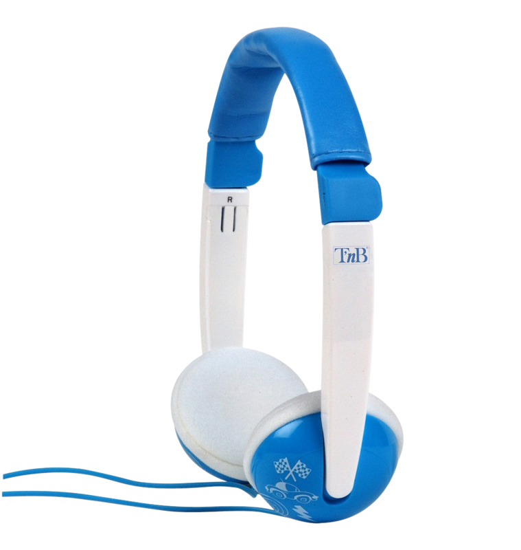 Casque enfant TNB KIDS SOUND Bleu/Blanc