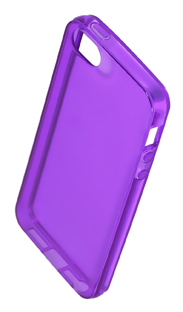 Coque TPU slim iPhone 5/5S/SE uni violet