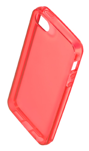Coque TPU slim iPhone 5/5S/SE uni orange (photo)