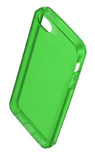 Coque TPU slim iPhone 5/5S/SE uni vert