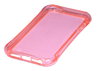 Coque TPU slim iPhone 5/5S/SE uni perl rose (photo)
