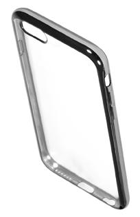 Coque TPU slim iPhone 6/6S transparente argent