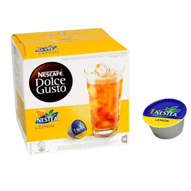 Dosette DOLCE GUSTO NESTEA LEMON x16 (photo)