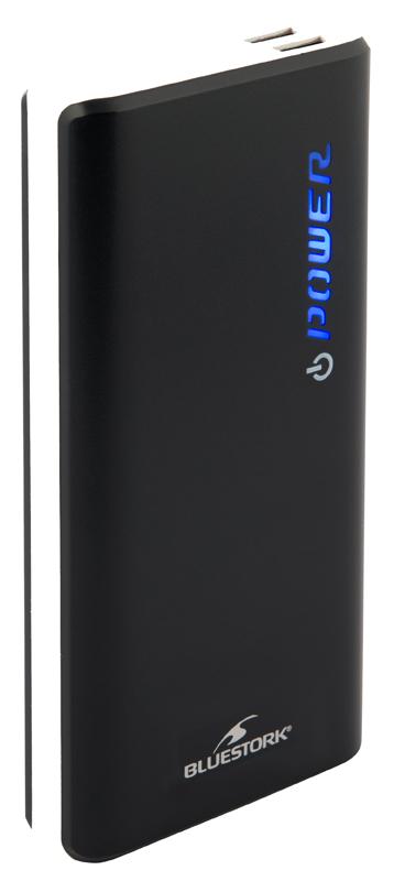 Batterie de secours BLUESTORK 11 000 mAh double USB