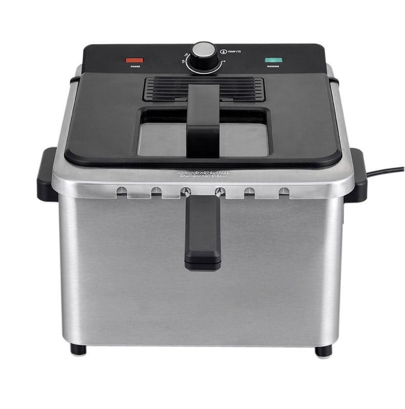 Friteuse COSYLIFE CL-FR5X2 inox 5L (photo)