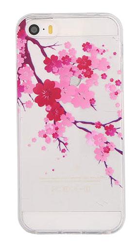 Coque ON.EARZ cerisier iPhone 5S/SE