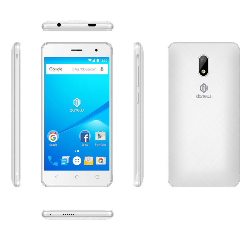Smartphone DANEW K504 3G blanc