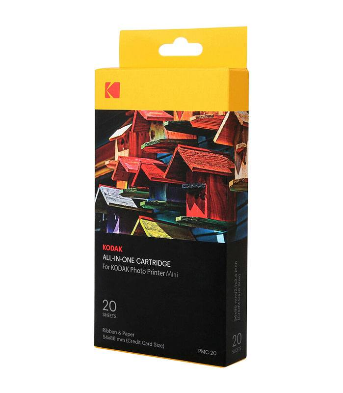 Recharge KODAK 20 feuilles PMC20 Printer Mini