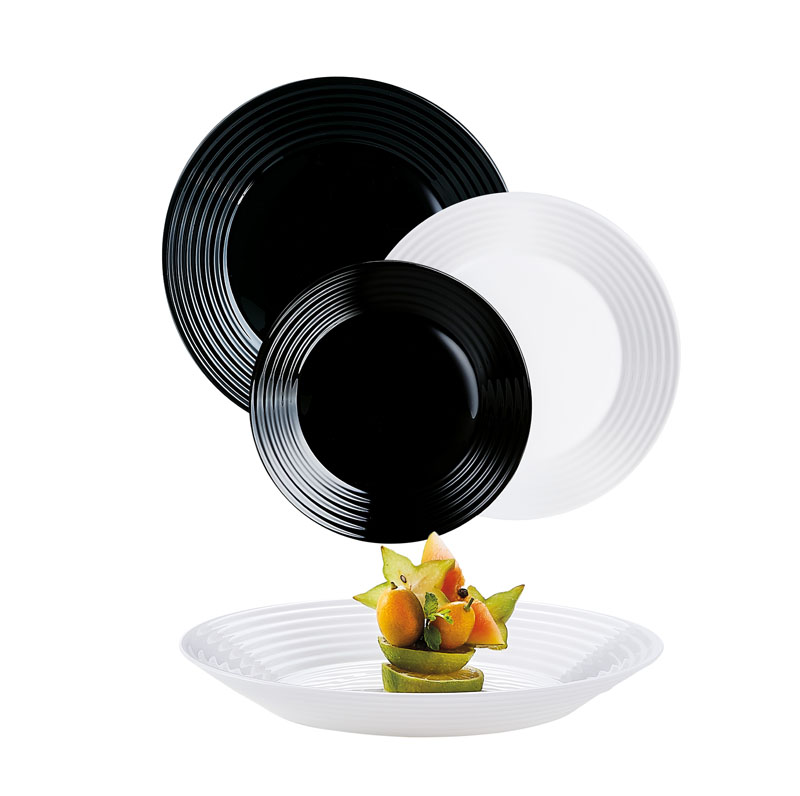 Assiette plate 25 cm Harena LUMINARC (photo)