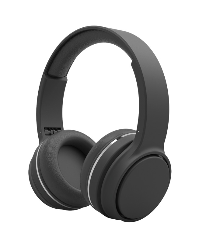 Casque bluetooth H'MC BTHS03 Noir (photo)