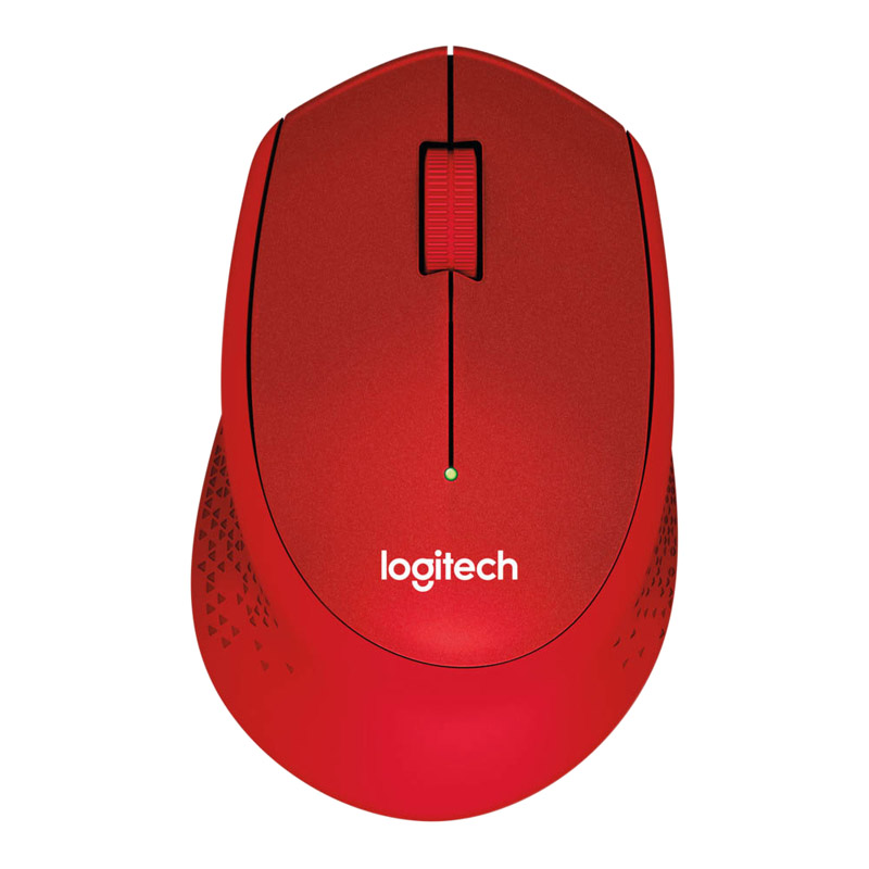 Souris LOGITECH M330 Silent Plus Rouge (photo)