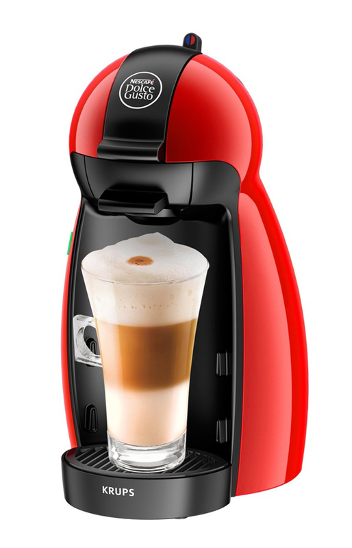 Expresso KRUPS Piccolo YY1051FD rouge (photo)