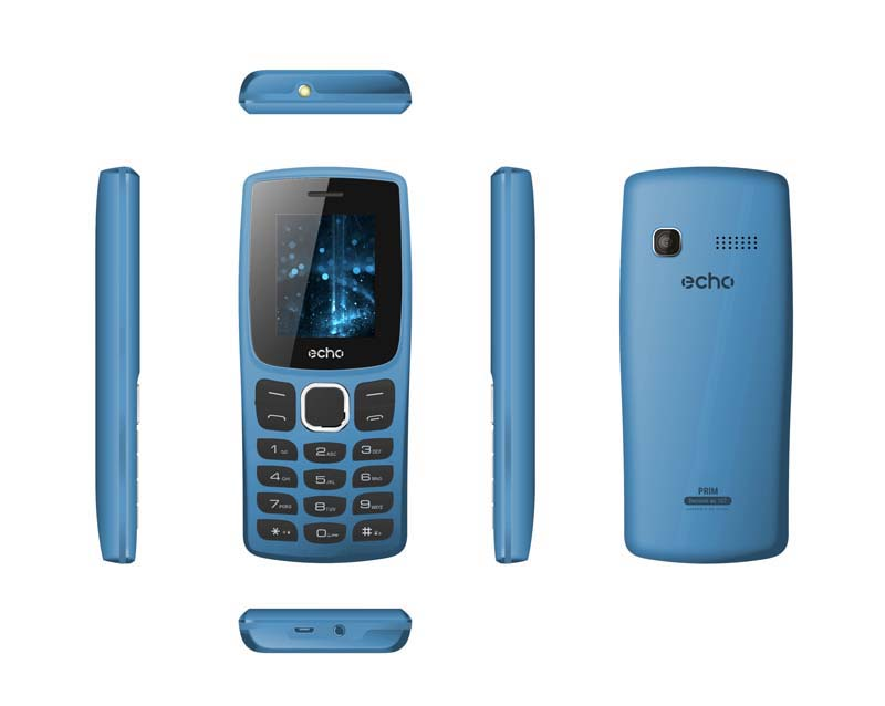 Mobile ECHO Prim 1,77 dualsim bleu
