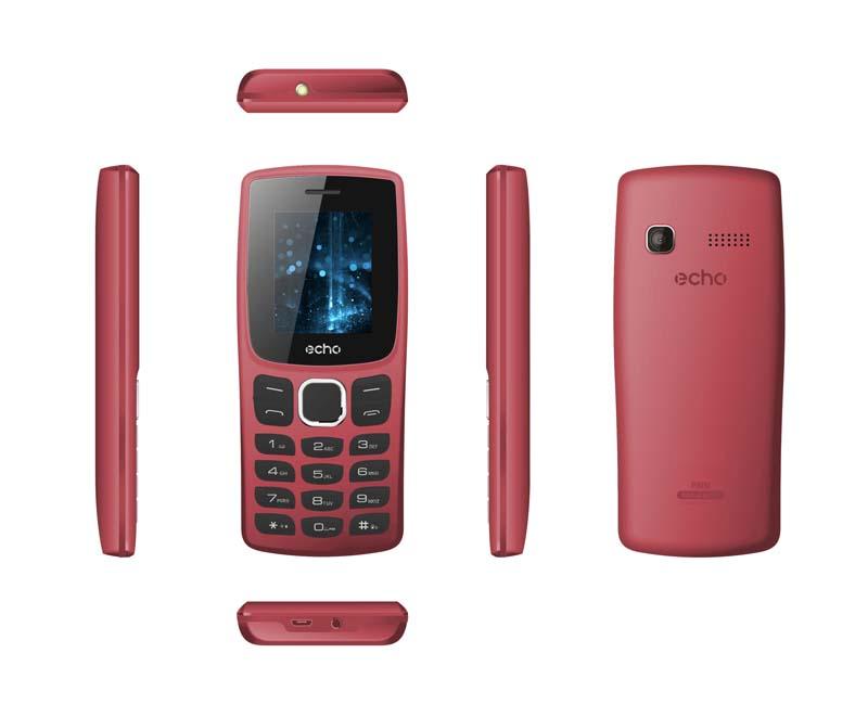 Mobile ECHO Prim 1,77 dualsim rouge