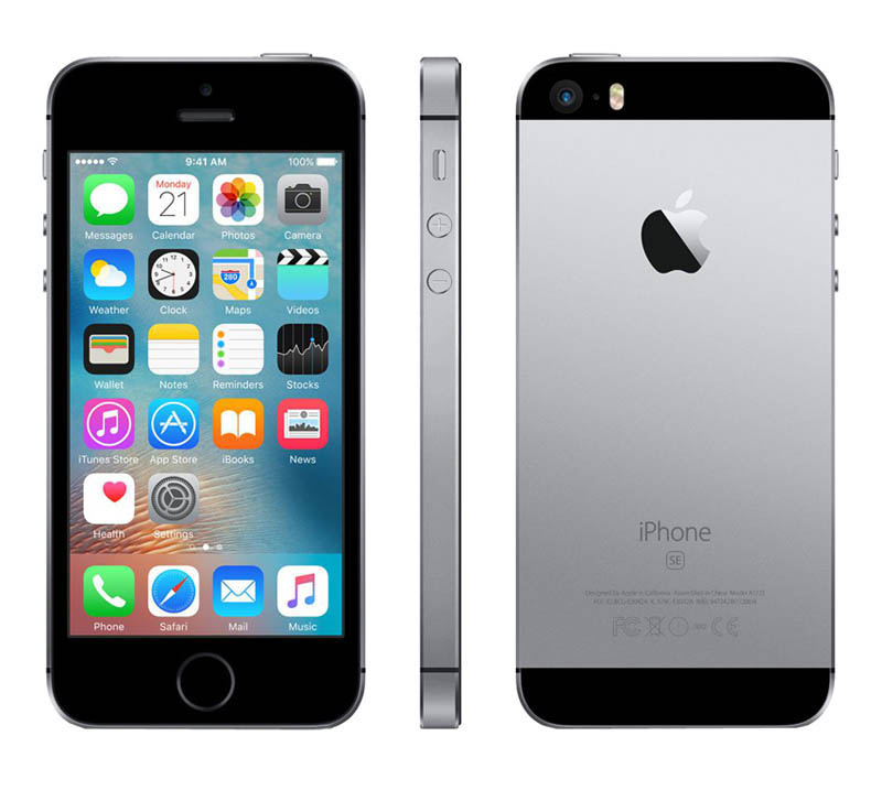 APPLE iPhone SE 16 Go Sideral Grey reconditionne grade A+