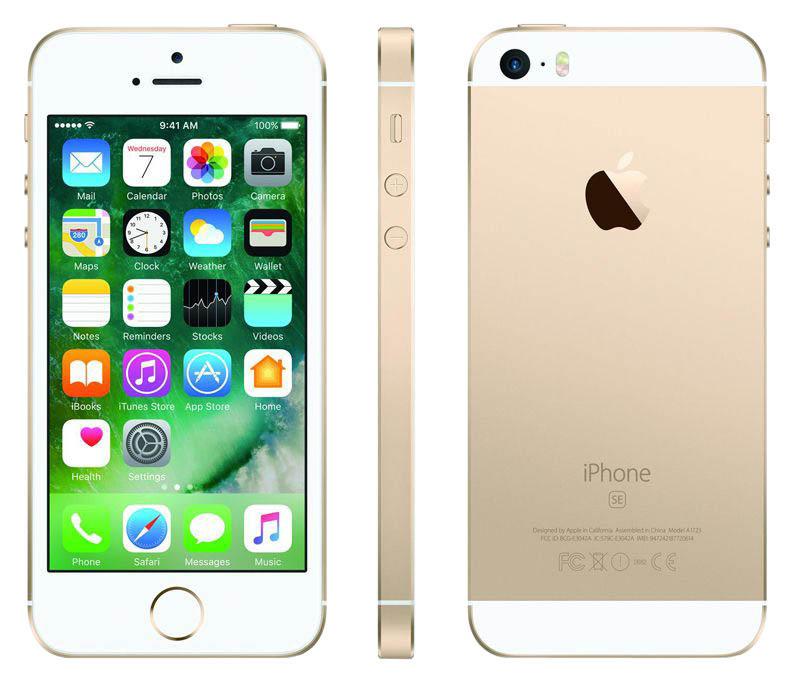 APPLE iPhone SE 16 Go Gold reconditionne grade A+