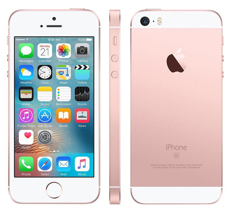 APPLE iPhone SE reconditionne grade A+ 16 go pink gold AGAIN