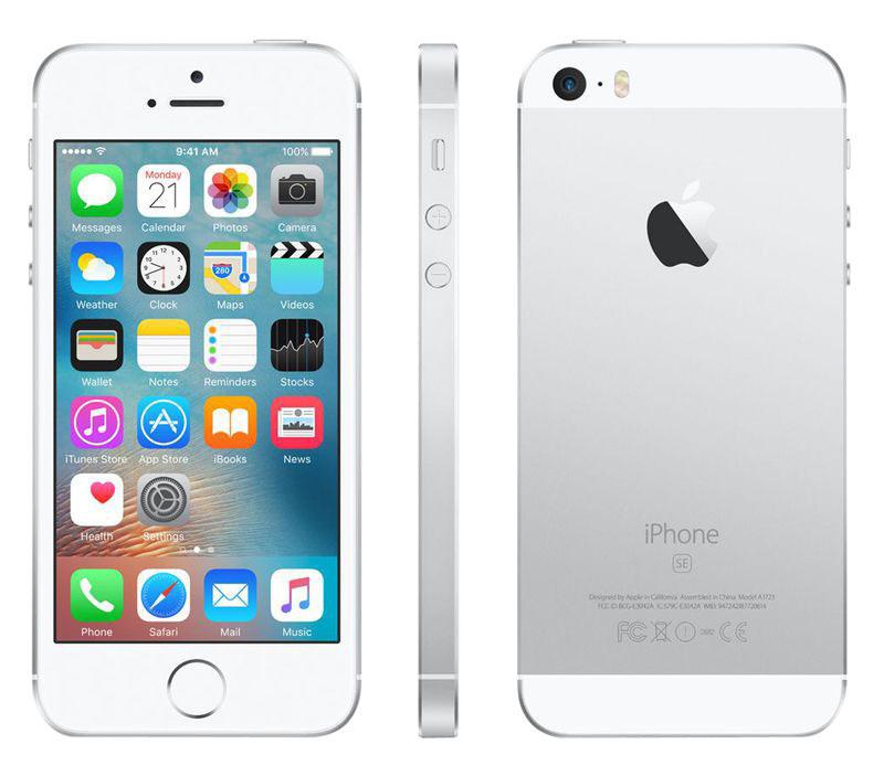 APPLE iPhone SE 16 Go Silver reconditionne grade A+