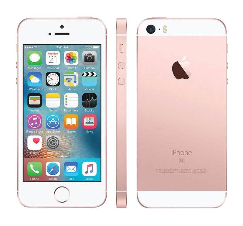 APPLE iPhone SE 64 go pink gold reconditionne grade A+