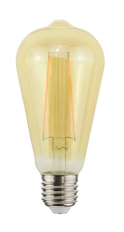 Ampoule BEWELL Vintage allongee E27 (photo)