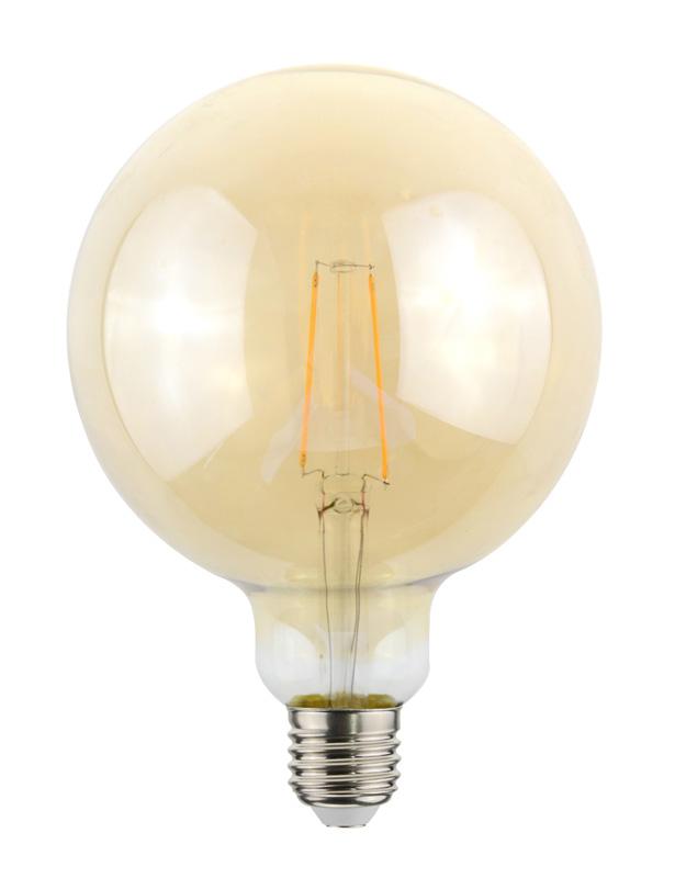 Ampoule BEWELL Vintage Globe E27 Diamètre 125mm (photo)
