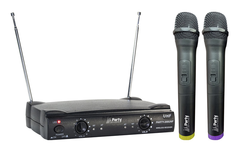 PACK PARTY LIGHT&SOUND PARTY-200UHF (photo)