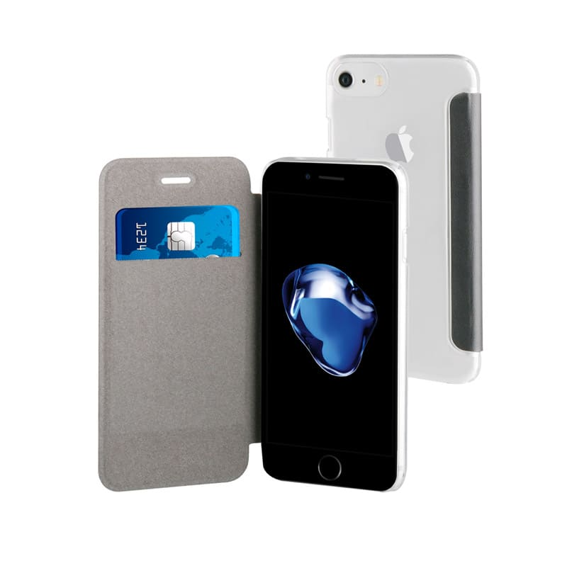 Folio case TECHYO avec dos transparent iPhone 6/6s