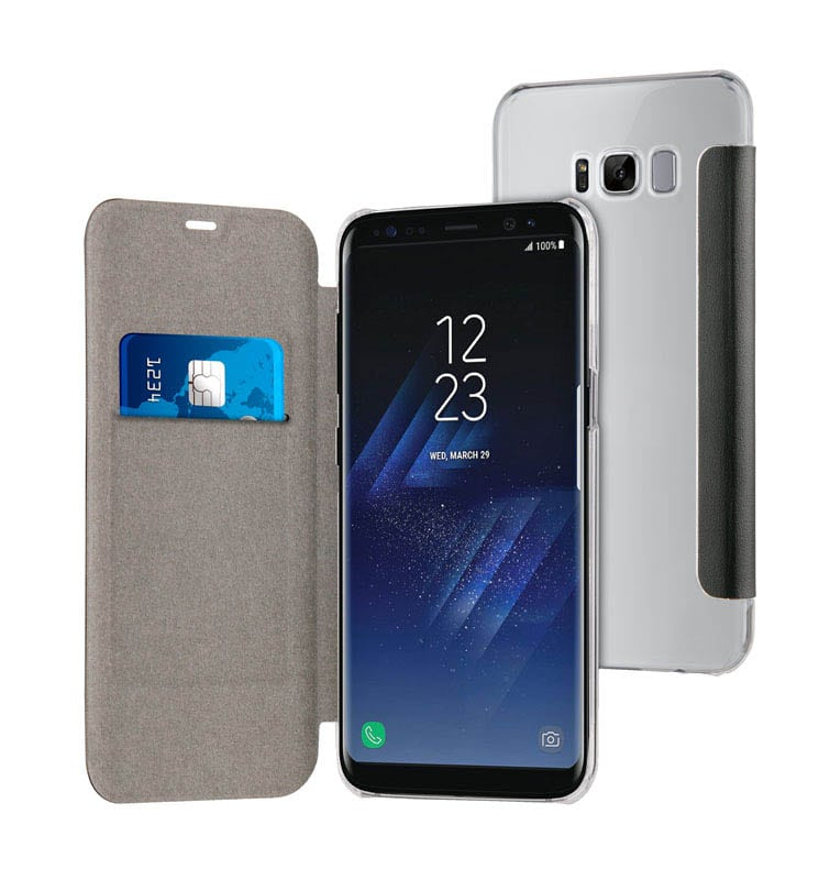 Folio Case TECHYO avec dos transparent SAMSUNG Galaxy S8