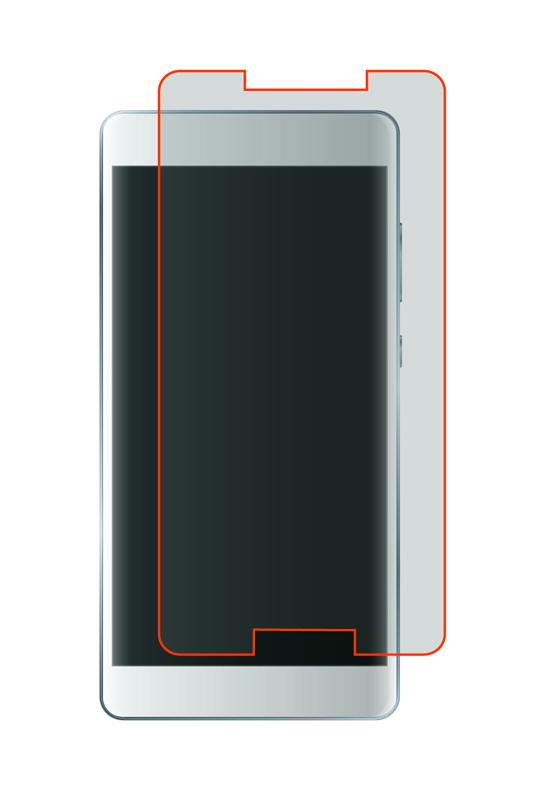 Film de Protection TECHYO en verre trempe 2.5D pour smartphone 4.5 - 4.7
