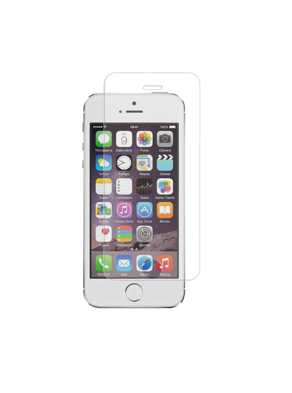 Film de Protection TECHYO verre trempe iPhone 5/5S