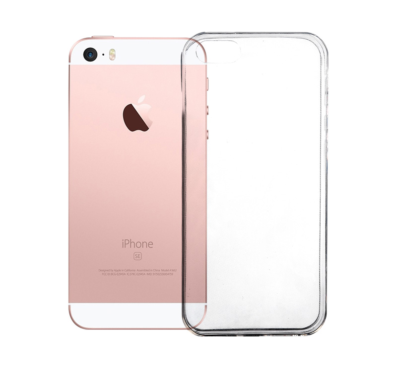 Coque TECHYO TPU iPhone 5 (photo)