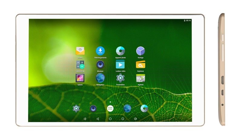 Tablette SMARTAK TAB920 Or
