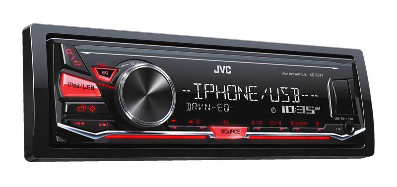 Autoradio JVC KD X241