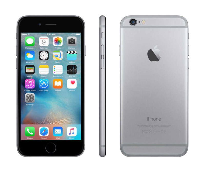 Apple Iphone 6 64 Go Sideral Grey Reconditionné Grade A+ (photo)