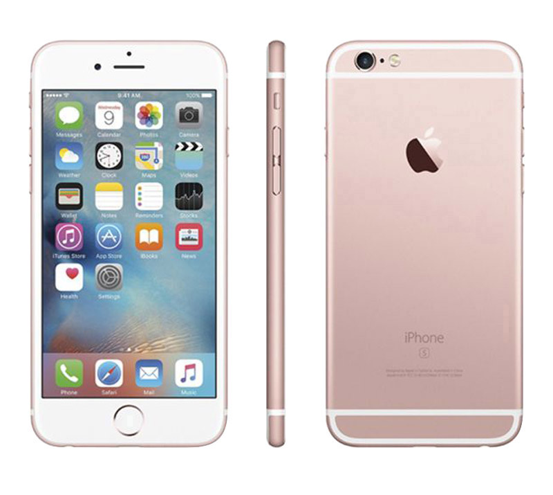 Apple Iphone 6s 16 Go Pink Gold Reconditionné Grade A+ (photo)