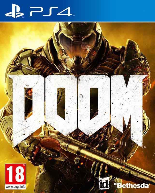 Jeu video PS4 DOOM