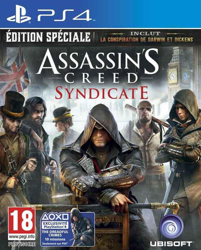 Jeu video PS4 ASSASSIN'S CREED SYNDICATE