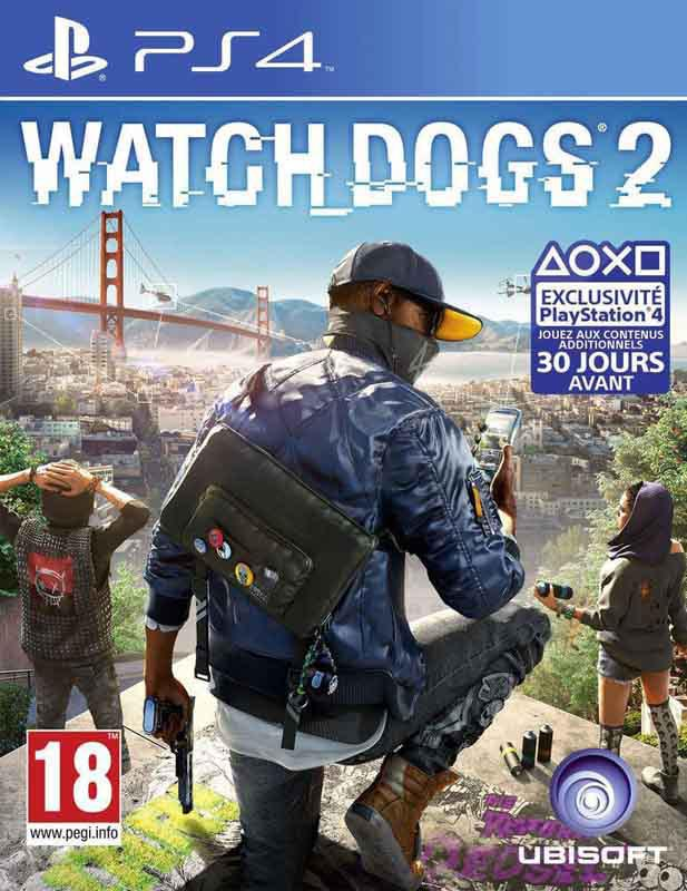 Jeu video PS4 WATCH DOGS 2 DELUXE EDITION