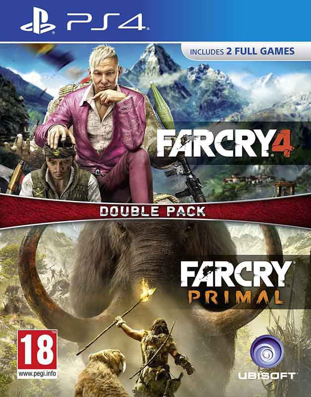 Jeu video PS4 FAR CRY + FAR CRY PRIMAL
