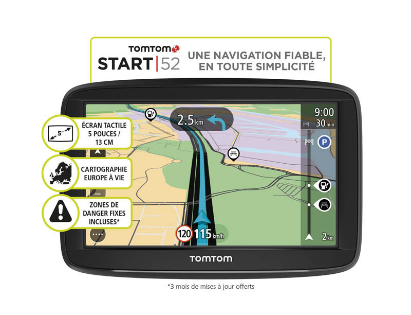 GPS TOMTOM START52 EU48