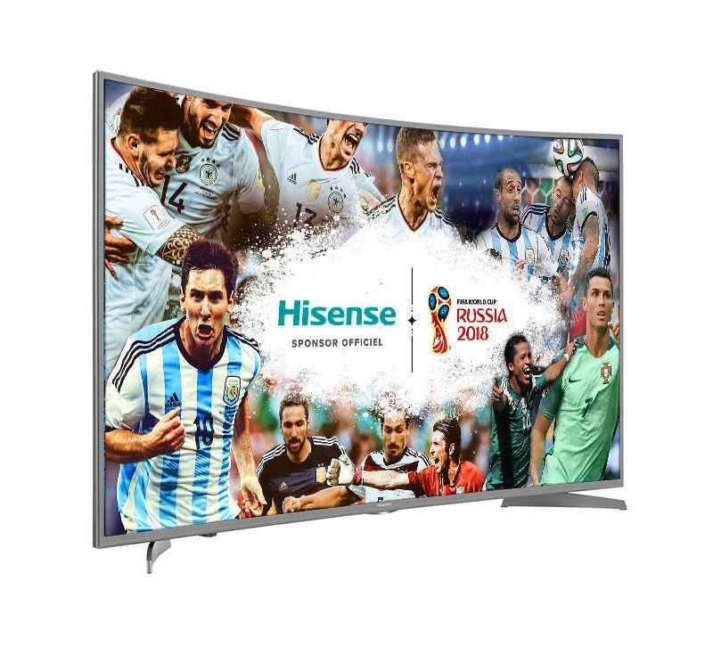 TV UHD 4K HISENSE H49NEC6500 CURVED HDR WEB DLN