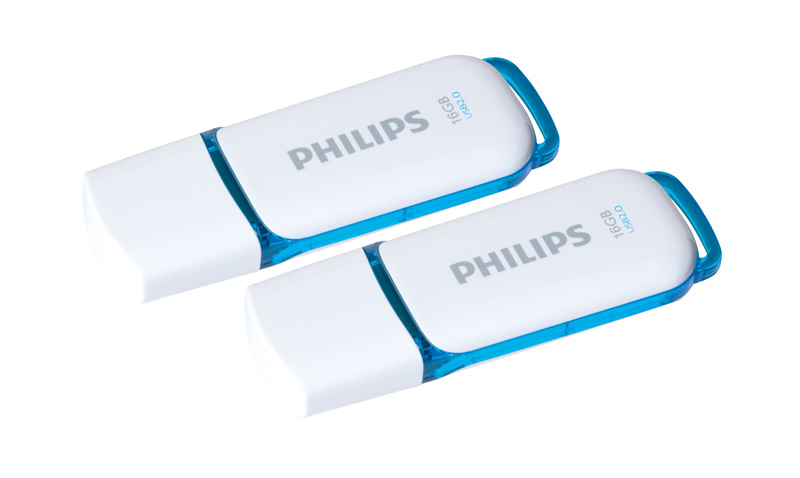 Pack cle USB PHILIPS 2x16 Go Snow