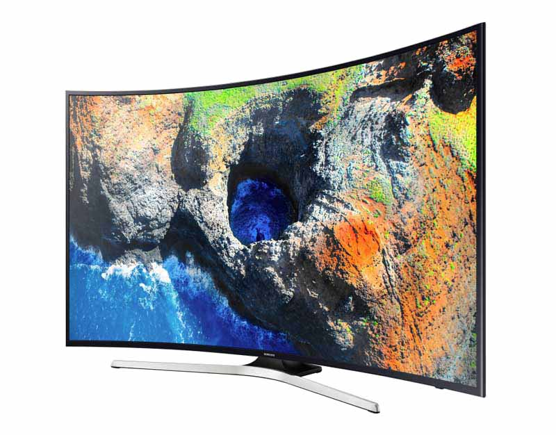 TV UHD 4K CURVED SAMSUNG UE55MU6220 HDR CONNECTÉ