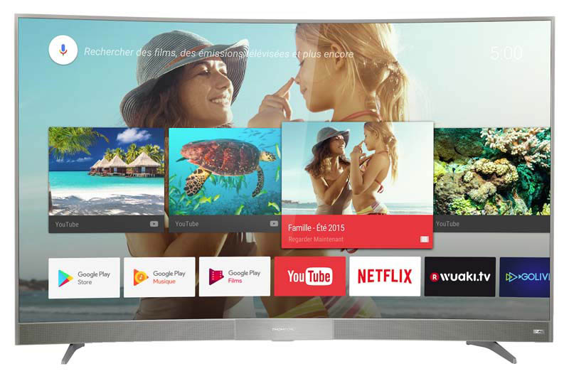 TV UHD 4K THOMSON 65UC6006S SMART ANDROID (photo)